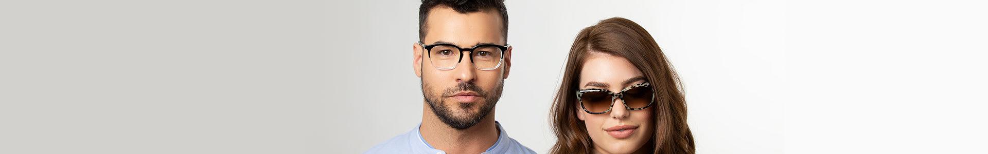 Square Frames for Eyeglasses & Sunglasses