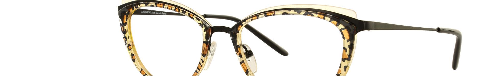 Top Animal Print Eyeglasses