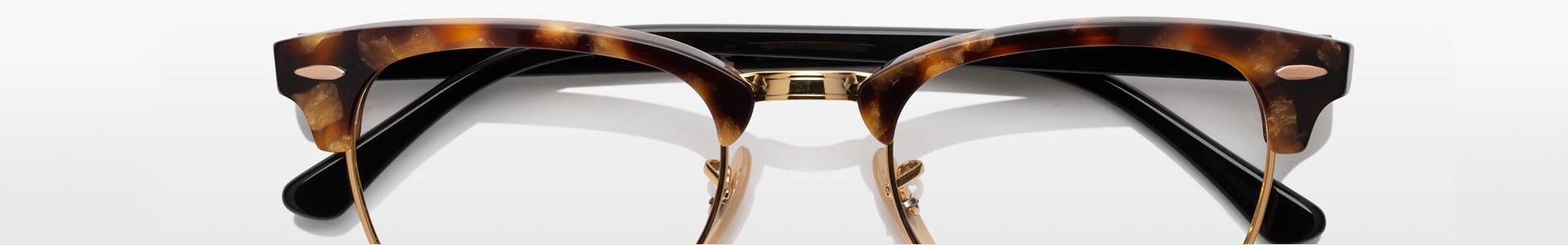 Horn-Rimmed Eyeglasses