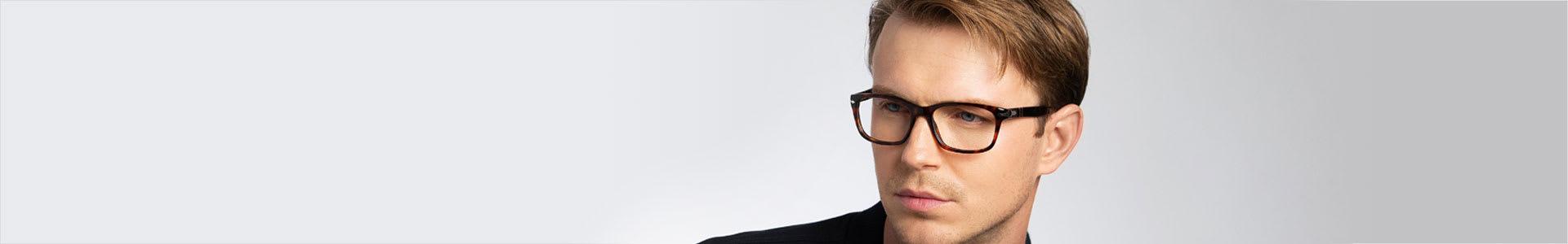 Men's Rectangular Eyewear
