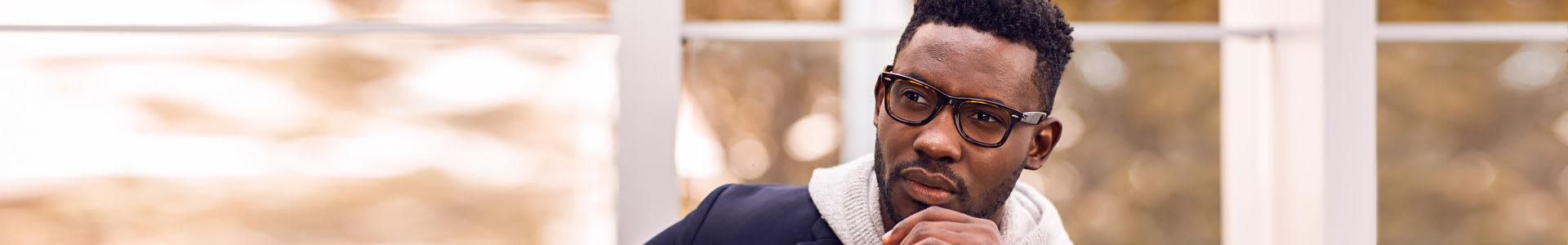 Men's Wayfarer Eyewear