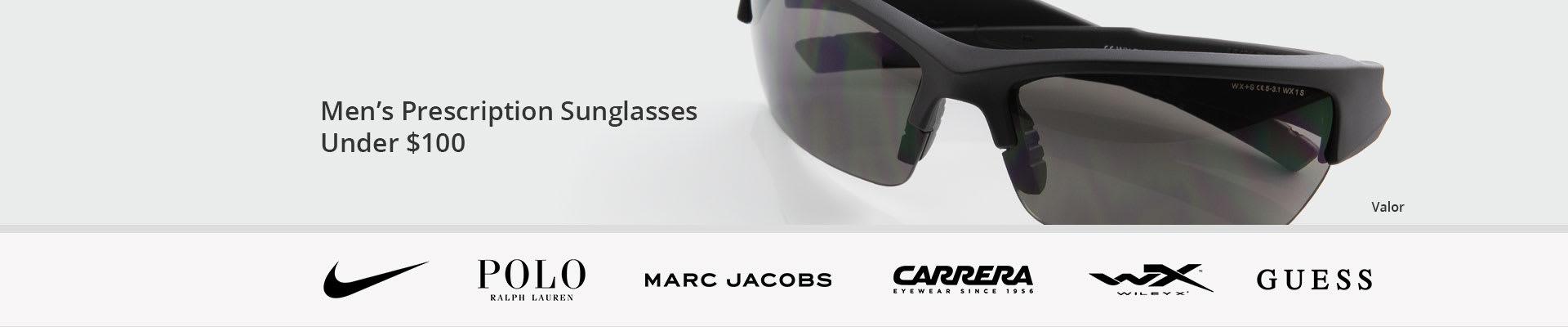 Men's Prescription Sunglasses Under $100